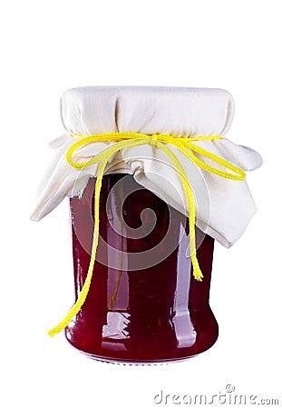 Free Marmelade Jam In A Jar Royalty Free Stock Photo - 15367555