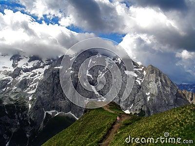 Marmolada Alps, Italy