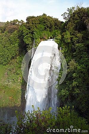 Marmore s Falls, Umbria, Italy