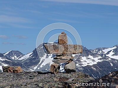 Marmota Inukshuk