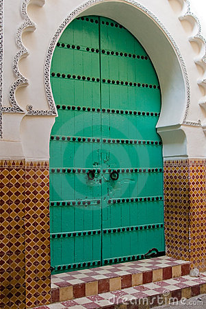 Free Marocco Door Stock Photo - 2454300