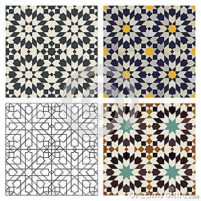 Marokkaanse Tegels Stock Fotografie Afbeelding 18396142