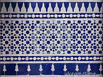 marokkaner zellige fliesen muster stockfoto bild 32653930. Black Bedroom Furniture Sets. Home Design Ideas