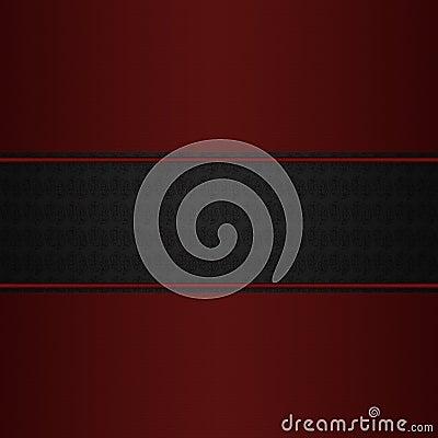 Maroon on dark pattern background
