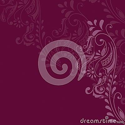 Maroon Pattern