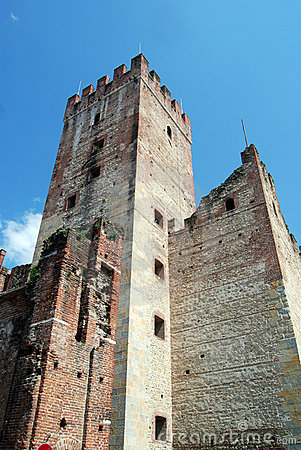 Free Marostica Castle Stock Photography - 9393332
