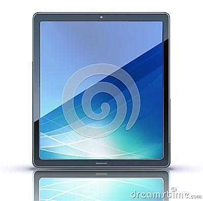 Marque en la tableta la PC
