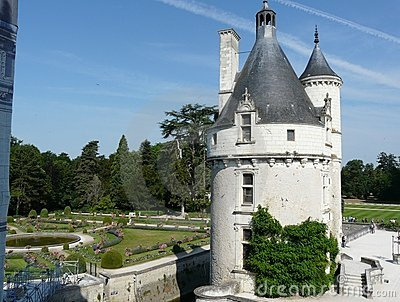 Marques Tower at the Chateau de Chenonceau, France