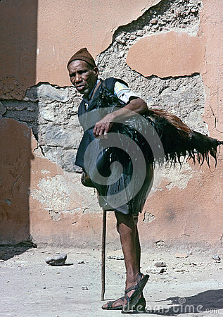 MARRAKECH, MOROCCO – AUGUST, 1979 Editorial Stock Image