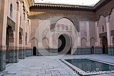 Marrakesh Ben Youssef Medersa