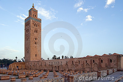 Marrakesh Koutoubia Minaret and Mosque