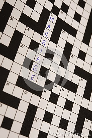 Marriage Crossword