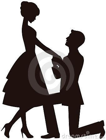 Free Marriage Proposal Royalty Free Stock Photo - 19589245