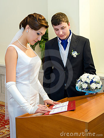 Marriage registration