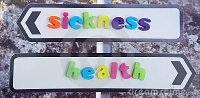 Marriage in sickness and in health. .