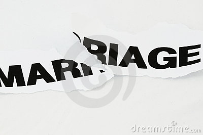 Marriage torn apart