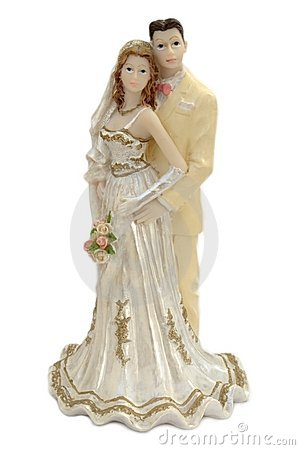 Married couple figurine