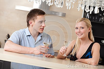 Married couple has dating dinner