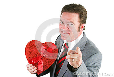 Married Man With a Valentine Heart
