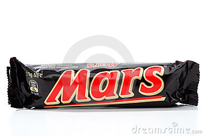 Mars Bar chocolate snack Editorial Image