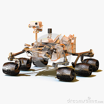 Free Mars Rover Curiosity Stock Images - 47941394