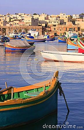 Marsaxlokk Fishing Village #1