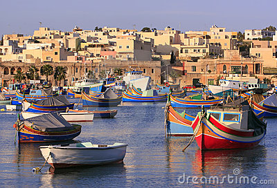 Marsaxlokk Fishing Village #2
