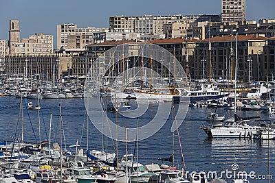 Marseille - söder av Frankrike