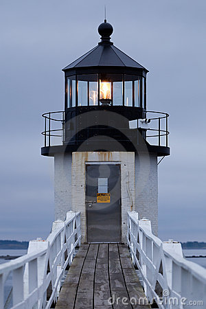 Free Marshall Point Lighthouse, Maine, USA Stock Photo - 16006070