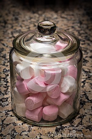 Marshmallows Jar