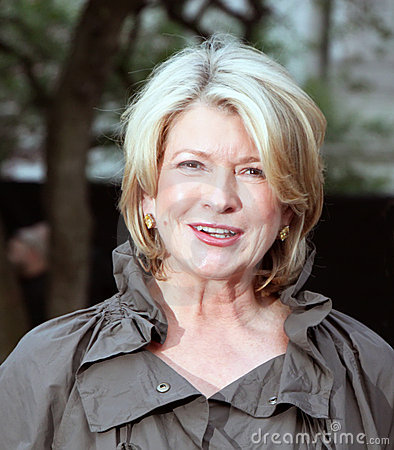 Martha Stewart Editorial Stock Photo