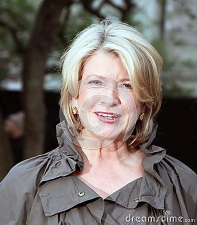 Martha Stewart Editorial Stock Photo