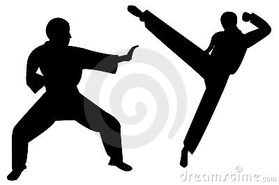 Martial art kick
