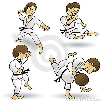 Martial Arts - Cartoon