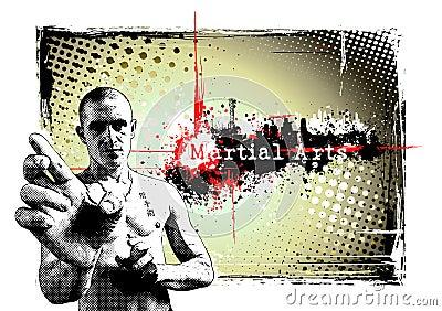 Martial arts frame
