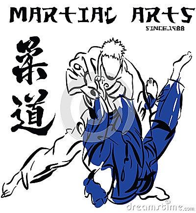 Martial arts Judo