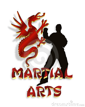 Martial Arts Logo Graphic 3D