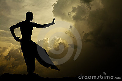 Martial Arts Meditation Background