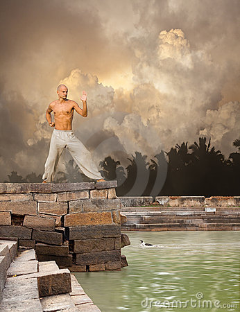 Martial Arts Tranquility Background