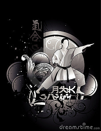 Martial arts vector