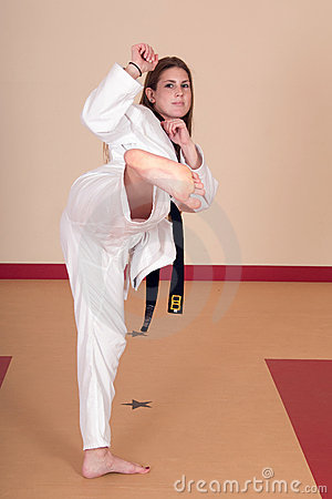Ls women who know martial arts are