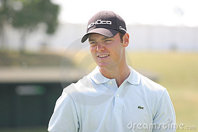 Martin Kaymer (GER) Golf French Open 2009 Editorial Stock Image