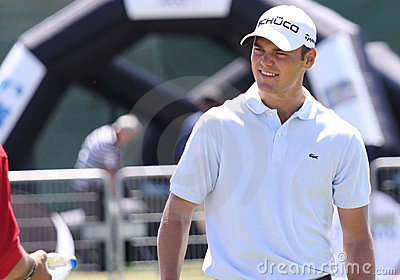 Martin Kaymer at golf French Open 2010 Editorial Stock Image