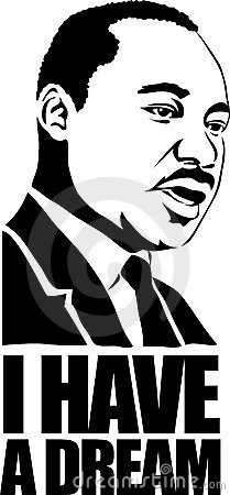 Free Martin Luther King/eps Stock Photography - 4283422