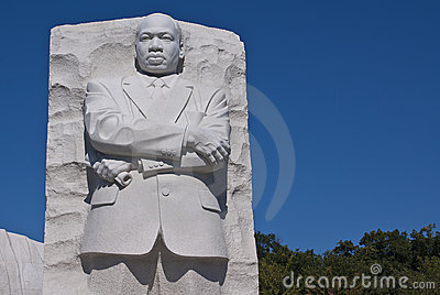 Martin Luther King Jr. Memorial Editorial Stock Photo