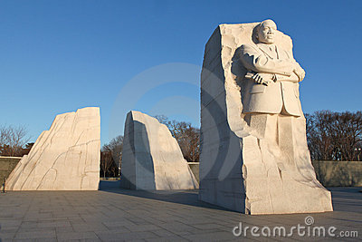 Martin Luther King, Jr. Memorial Editorial Photo