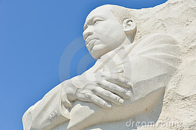 Martin Luther King Jr. Memorial in Washington DC  Editorial Photography