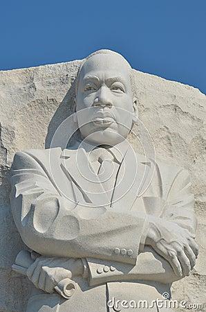 Martin Luther King Jr Memorial In Washington Dc Editorial