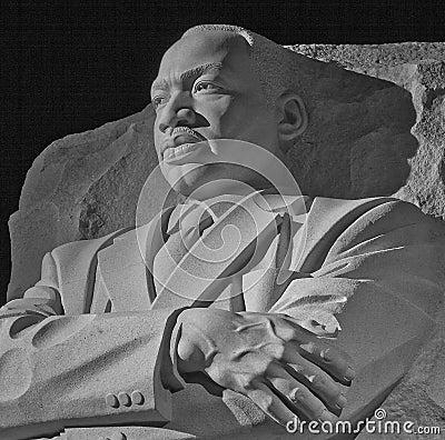 Martin Luther King, Jr. Memorial--Washington, DC Editorial Photography
