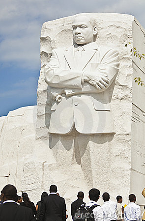 Martin Luther King, Jr Monument in Washington, DC Editorial Photo